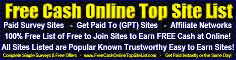 Free Cash Online Top Site List