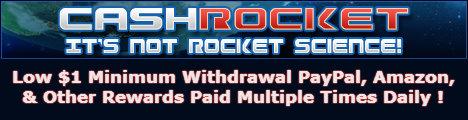 CashRocket GPT - Daily $1 Minimum PayPal (banner image)